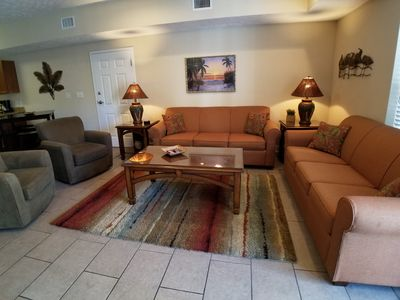 Beautiful 4BR/3Bath Condo-Lazy River/Splash Zone-Great for Families/Large Groups