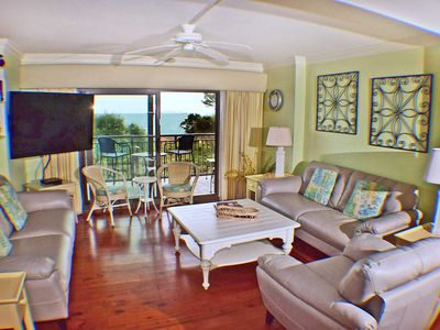 Photo for Ocean One 419 -Updated Lovely Oceanfront 4th Floor Condo