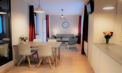 Photo for Spacious apartment 4 * with terrace hypercentre