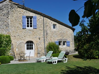 Photo for BETWEEN PROVENCE AND ARDECHE GÎTE D'HÔTES OF MAS CHAZEL CLOSE TO UZES AND NÎMES