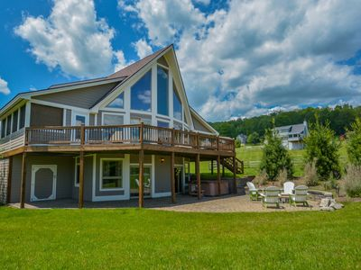 Photo for Amazing 4 Bedroom Luxury home with hot tub close to Wisp & area activities!