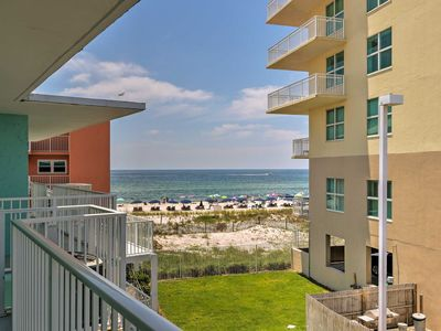 Photo for Beachside Gulf Shores Condo - beautiful views! New owners!