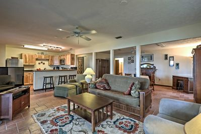 The newly remodeled interior offers 1 bedroom and 1 bathroom!
