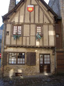 14th Century House in the very heart of historic Dinan!