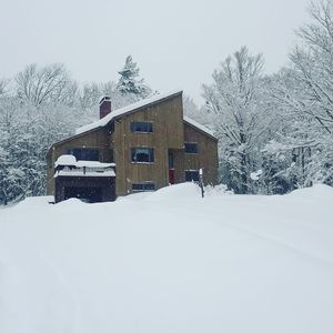 Photo for Secluded Chalet, Mountain Views, Sauna+ Hotub (Near Stratton, Magic, Bromley Mt)