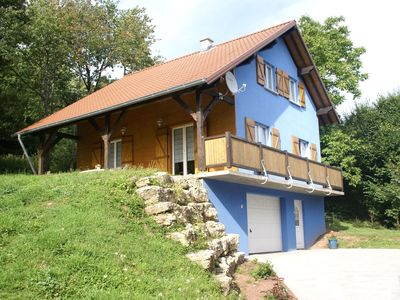 Photo for Cosy holiday home with garden in wooded area in the Moselle, France