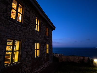 Photo for Great sea cliff home...steps from the Beach.