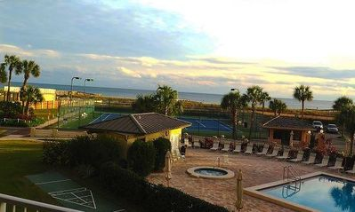 Photo for Unit 205–Gulf View w/FREE beach service-easy access to pool, recently updated