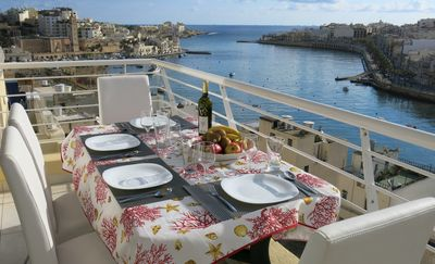 New listing, stylish, modern 2 bedroom apartment, terrace with stunning sea view