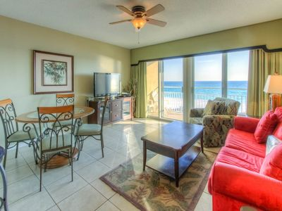 Photo for Beautiful condo w/gulf front views! Spacious private Balconies!
