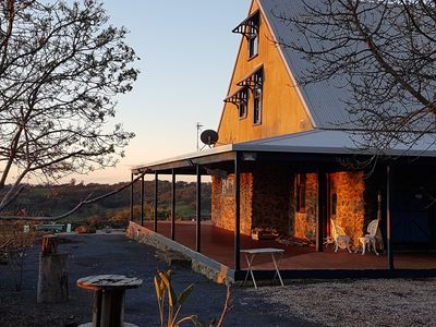 Photo for Jinji's Edge Escape - Stone house on 10 acres, short drive to Daylesford.