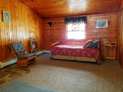Photo for Spacious home in a quiet area, located directly across snowmobile trail!