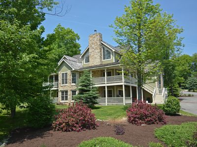 Photo for Unbelievable 8 Bedroom Mountain Home features stunning lake views!