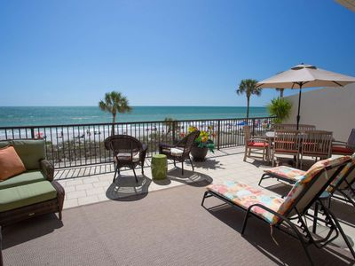 Photo for Fantastic Views From The Extra Large Beachfront Terrace. All Updated and Upgraded Inside.
