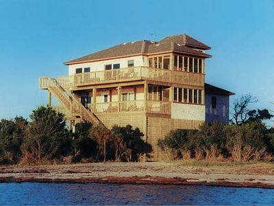 Photo for Soundfront Rodanthe-Convenient Windsports & Fishing Access, Hot Tub, WiFi & More