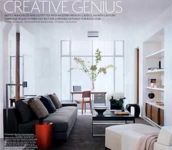 Photo for Ile Saint Louis VIP Loft of 2300 sqft published in many deco magazines & full AC