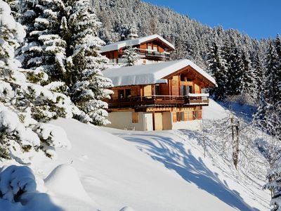 Photo for 2 floors Chalet with :Ground floor : Entrance corridor with 1 WC, 1 bedroom with 1 bunk beds, 1 bedr