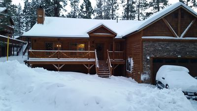 Photo for Winter's Wonderland - Luxury Retreat, Great Room, Gourmet Kitchen and Spa!