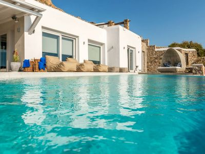 Photo for Dali Villa - Our Luxury 6-bedroom property in Mykonos, contact us for best rates & concierge