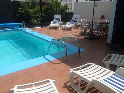 Photo for DETACHED VILLA  private  ELECTRICALLY HEATED POOL SEA VEIWS GREAT LOCATION