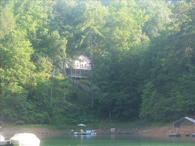 Photo for 'Lakefront' 4BR Home with Dock on Lake Hiwassee in Bear Paw