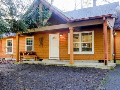 Photo for Charming, dog-friendly home w/ deck & shared pool/tennis - near skiing & hiking!