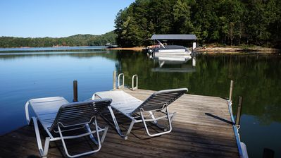 Photo for Adorable Cabin with great views, swimming, bathing and fishing