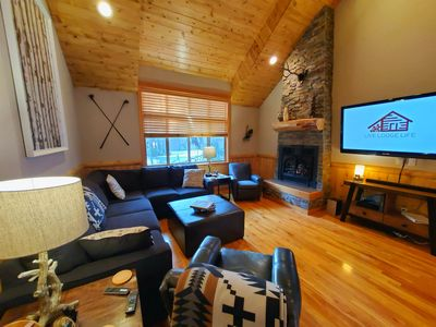 Photo for LIVE LODGE LIFE - Upscale decor, hot tub, bikes, 10x SHARC, sleeps 15, amazing!!