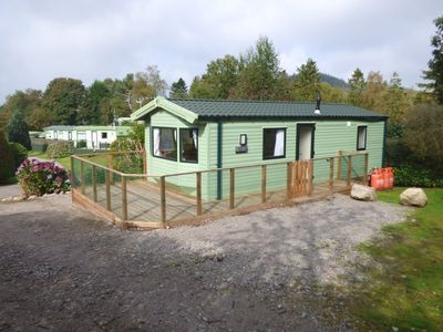 Photo for Cosy caravan ideal for couples, sleeps 4 guests (unit B6)