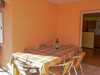 Photo for Two bedroom apartment with terrace Sabunike, Zadar (A-11837-c)