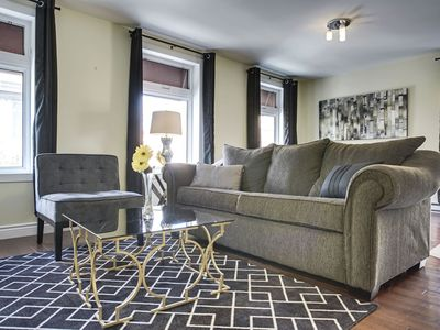 Photo for Sonder | Beaudry | Sunny 1BR + Sofa Bed