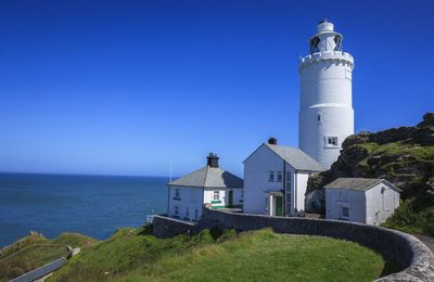 Photo for Landward Cottage at Start Point Lighthouse with a breath-taking panorama of sea views.