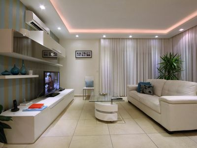 Photo for Designer finished apartment, 2 Bedroom corner apartment with communal pool