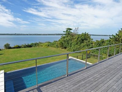 Photo for Luxury Home-spectacular Water View, Sunsets, Gorgeous Pool, Direct Water Access