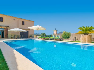 Photo for CAN PONT - Villa with private pool in Manacor.