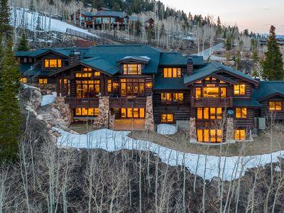 Photo for Spectacular 11,300 SQ FT Ski In/Ski Out in exclusive gated community, The Colony