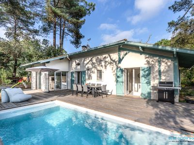 Photo for Villa Takamira - heated pool and spacious garden close to Golf and Beaches
