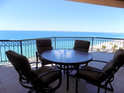 Photo for SSE 805 Awesome ocean front 8th floor condominium at the Sonoran Sun Resort