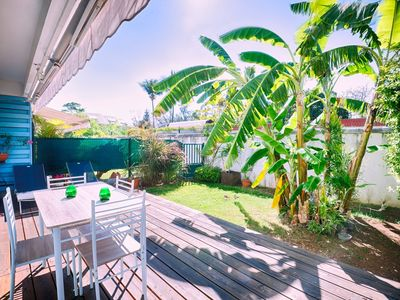 Photo for SAINT LEU : APPARTEMENT ESCALE BLEUE : STUDIO AVEC JARDIN, PROCHE PLAGE, 2 PERS