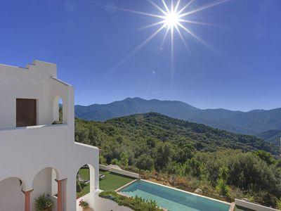 Photo for Gorgeous villa, infinity pool and jaw dropping views. Sleeps up to eight