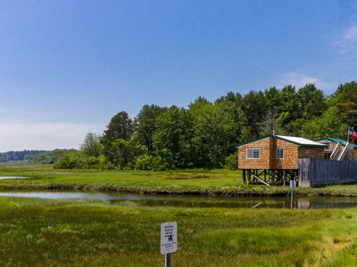 Photo for Charming cottage right on the waterfront on Drake's Island