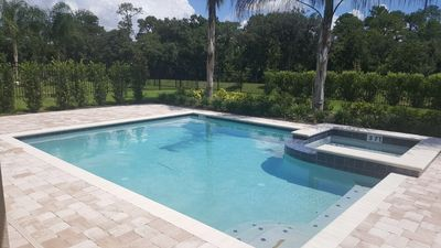 Photo for New, 8 Bedroom, Private Pool, Spa, Near Disney