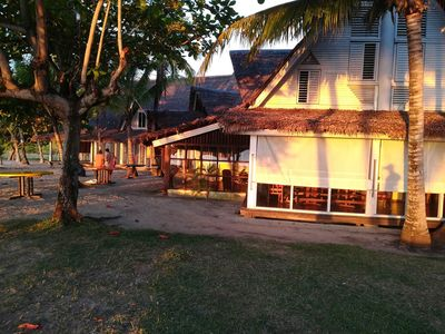 Photo for Enjoy you wonderful 1 bedroom right on the beach of Nosy be