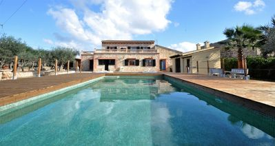 Photo for CAN FUSTERET- Big house in Inca (Mallorca) for 12 people. Private pool. Barbecue. Clear views - Free Wifi