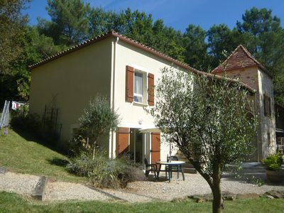 Photo for 4* Spacious Gite Apartment with Fantastic Views And Heated Pool, Child friendly
