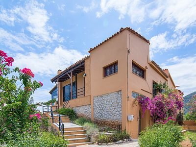 Photo for Classic Greek Villa Surrounded By Amazing Landscape And Profound History