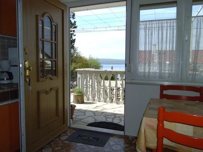 Photo for Apartment in Dramalj with Seaview, Terrace, Air condition, WIFI (3322-1)