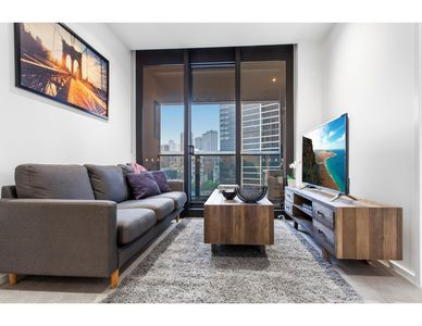 Photo for Modern apartment with city views and luxury extras