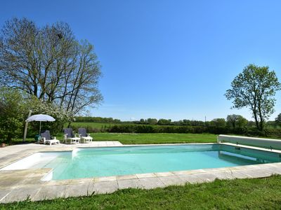 Photo for Modern Holiday Home in Burgundy with Swimming Pool
