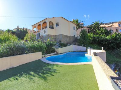 Photo for Villa with pool and sea views -MAR19